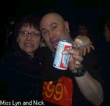 Miss Lyn and Nick