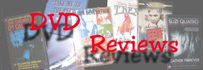 DVD reviews for the Boston Groupie News
