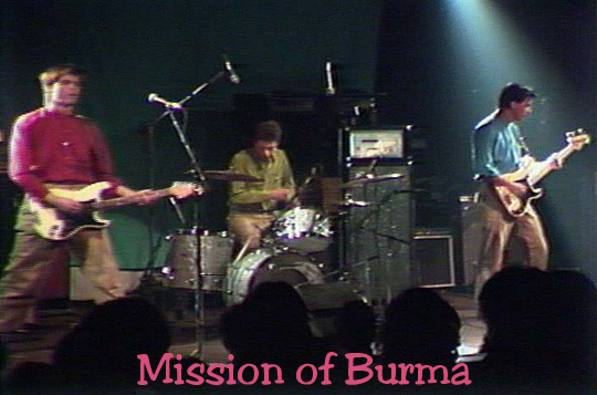 Mission OF BURMA by Jan Crocker