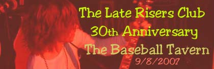 The LRC Anniversary gig, 30 freakin' years