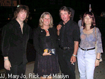JJ Rassler, Mary Jo, Rick and Marilyn.