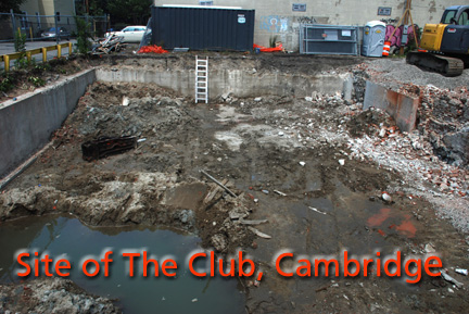 The club, now as hole