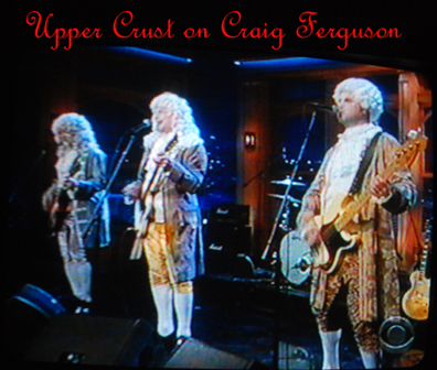 The Upper Crust hits the TV