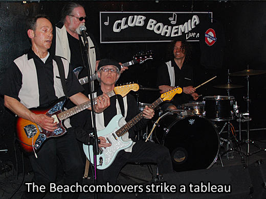 The Beachcombovers at the Cantab