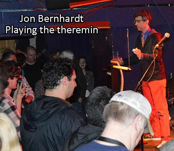 Bernhardt does the Theremin