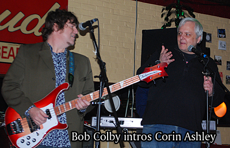Bob colby intros Corin Ashley
