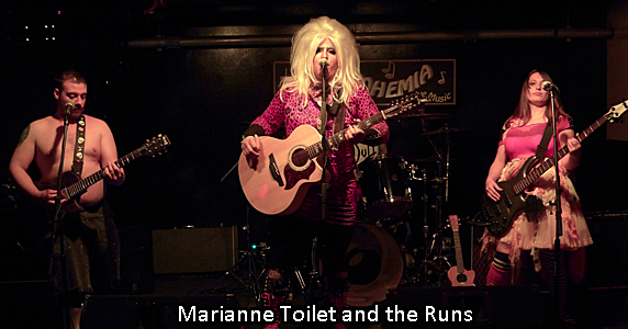 Mary Anne Toilet and the Runs
