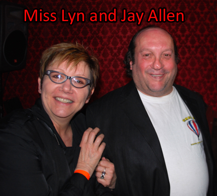 Miss Lyn and Jay Allen