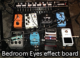 Bedroom Eyes effects board