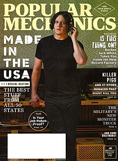 Jack White on Popular Mechanics