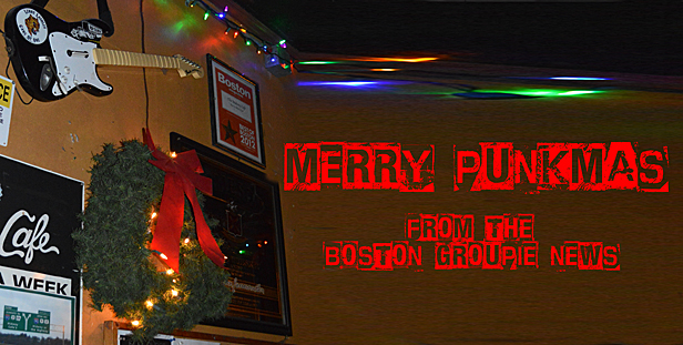 Merry Punkmas from the Boston Groupie News