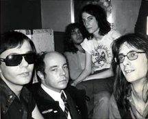 Nolan, Ed Hood, Fred Sonic Smith, Patti Smith and Lenny Kaye