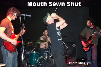 Mouth SewnShut