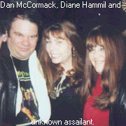Dan Mc Cormack with Diane hammil and unknown assailant.