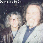 Mr Curt and Donna.