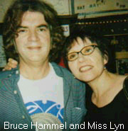 Bruce Hamel and Miss Lyn