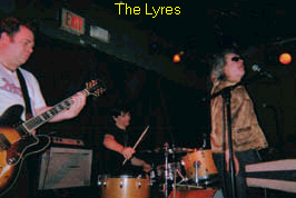 The Lyres at eh Bug Jar, Rochester NY.