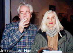 Art personified - Jeff and Jane Hudson.