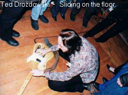 Ted Drozdowski - guitbox on the floor.